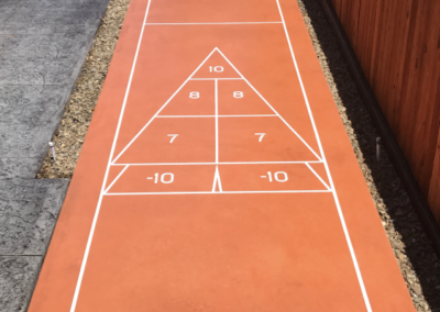 backyard shuffleboard